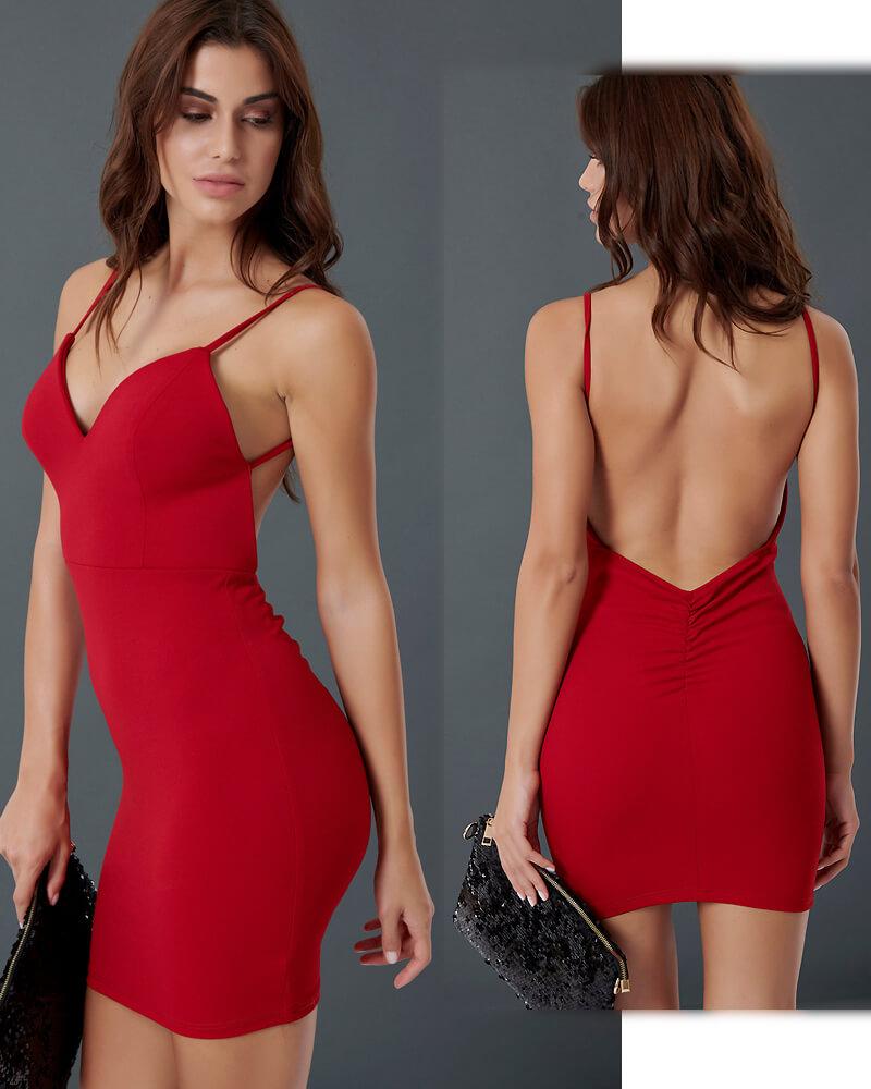 Sweet Cherry μίνι φόρεμα