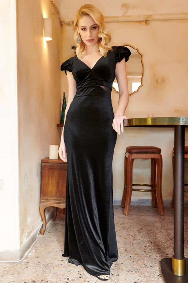 ΜΑΞΙ ΦΟΡΕΜΑΤΑ Denali φόρεμα μαύρο