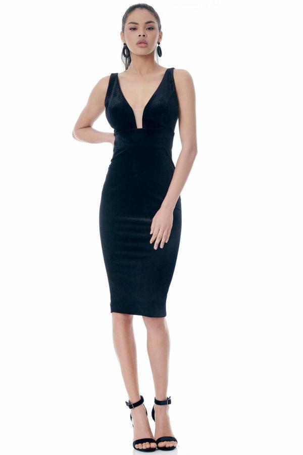 Lucina φόρεμα μαύρο