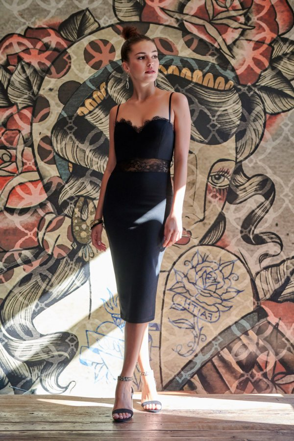 ΦΟΡΕΜΑΤΑ Heart tamer φόρεμα μαύρο