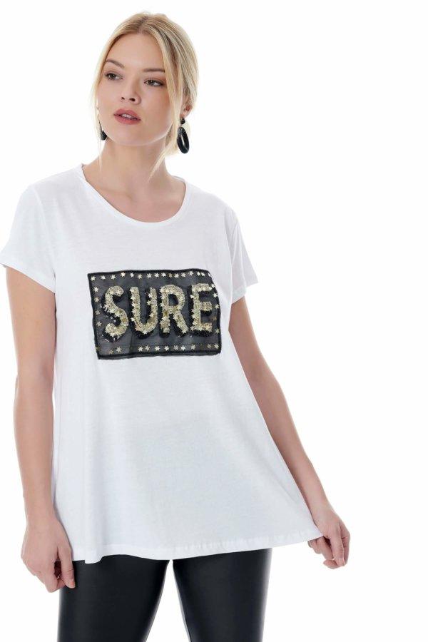 TSHIRTS Emily t-shirt λευκό