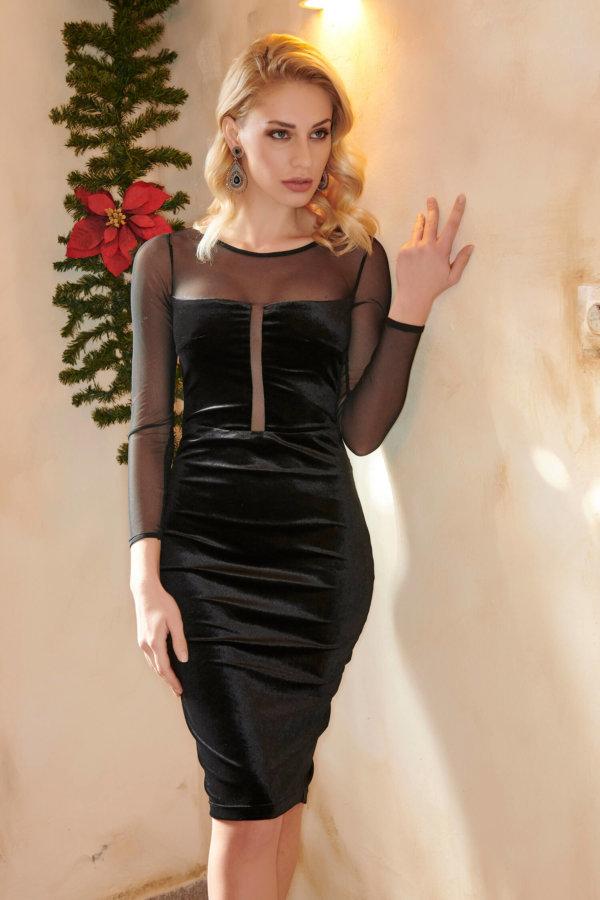 Neida φόρεμα μαύρο