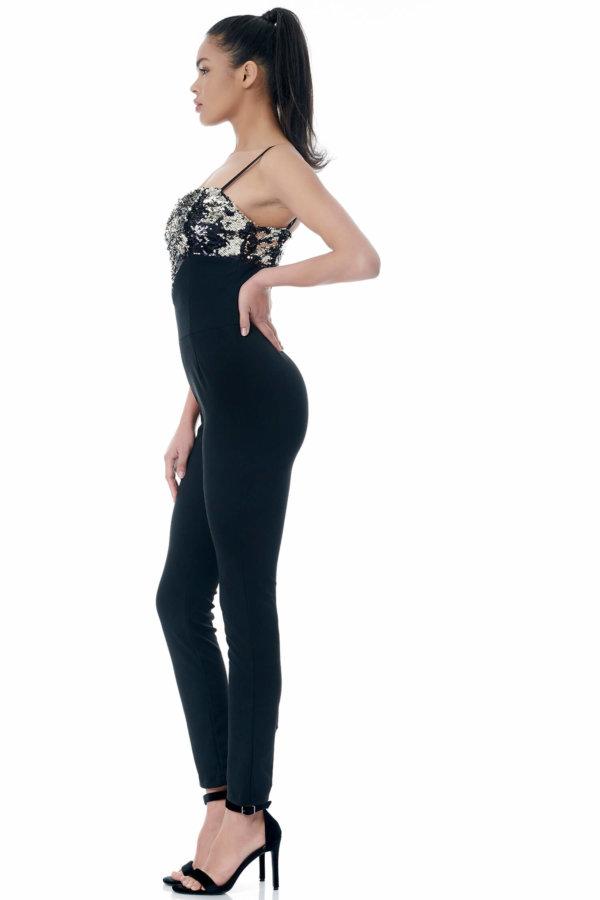 Harpy ολόσωμη φόρμα μαύρο