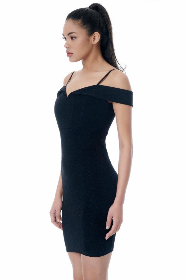 Tanith φόρεμα μαύρο