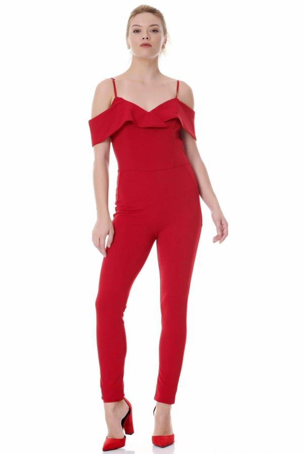 ΟΛΟΣΩΜΕΣ ΦΟΡΜΕΣ ΠΡΟΣΦΟΡΕΣ Halima ολόσωμη φόρμα κόκκινο