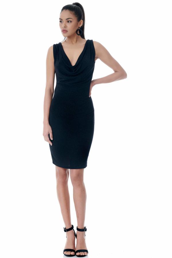 Hebe φόρεμα μαύρο