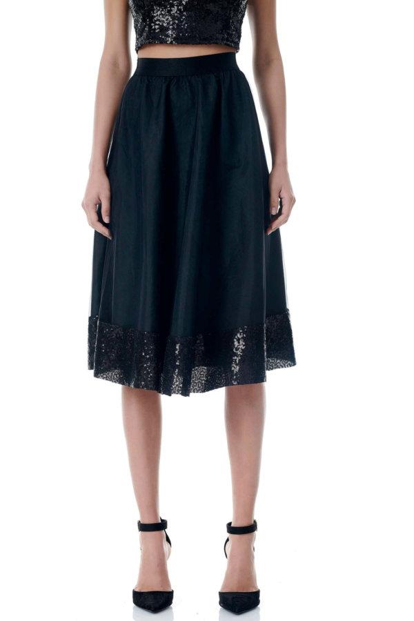 Joellen φούστα μαύρο