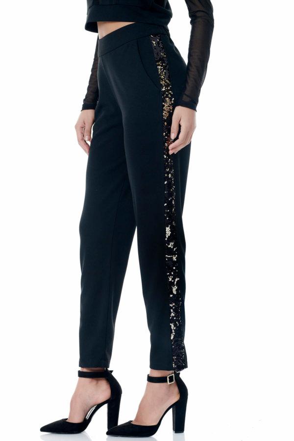 Birog παντελόνι μαύρο