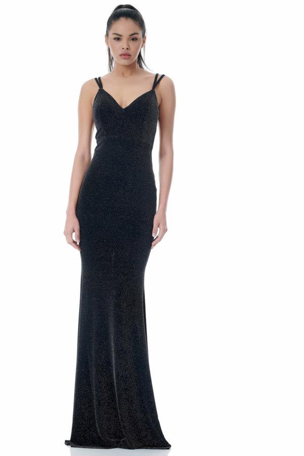 ΜΑΞΙ ΦΟΡΕΜΑΤΑ Amarilla φόρεμα ασημί