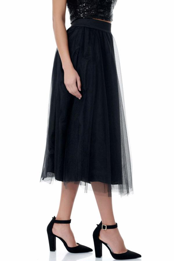 ΦΟΥΣΤΕΣ Elizabeth φούστα μαύρο