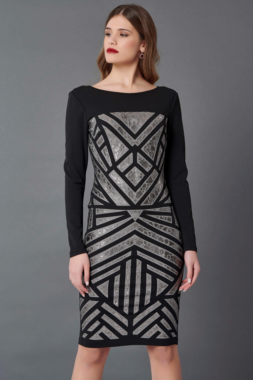 Edith φόρεμα μαύρο