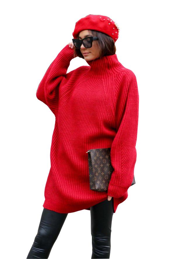 Alexandra πλεκτό κόκκινο
