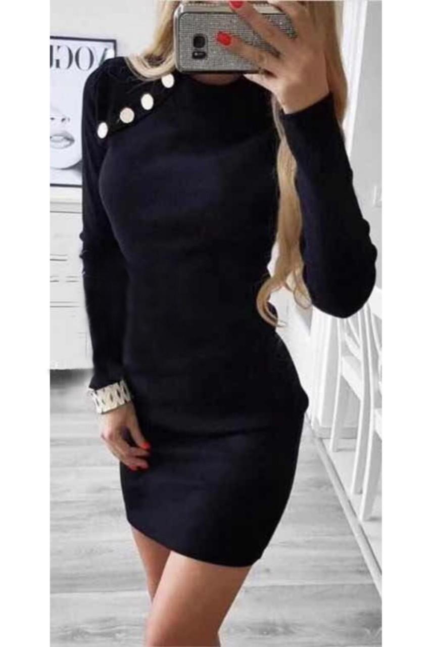 Eliza φόρεμα μαύρο