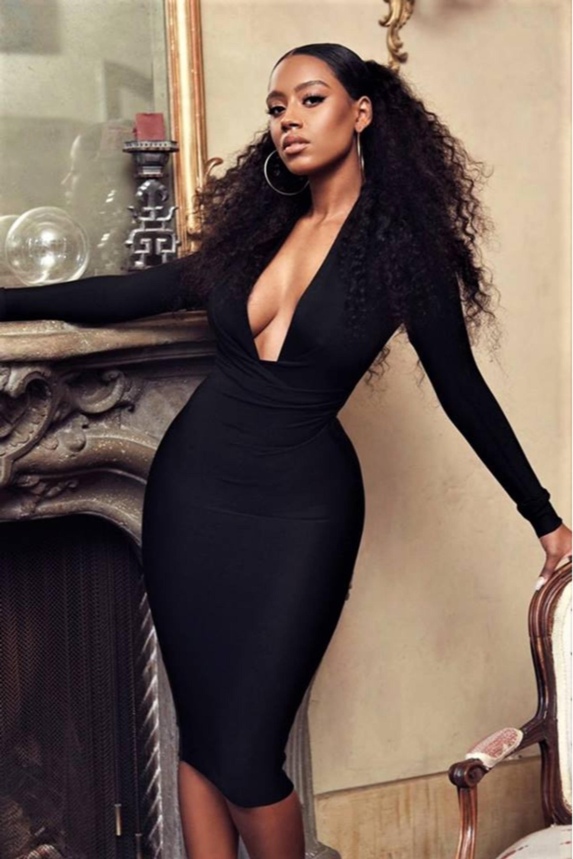 Diem φόρεμα μαύρο