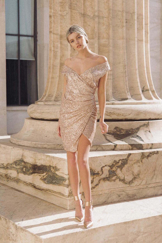 b2bf4833e414 French Kiss dress χρυσό – Joy
