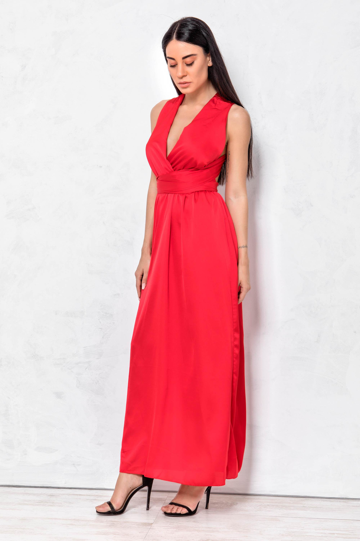 78d35727dca Adel φόρεμα κόκκινο – Joy