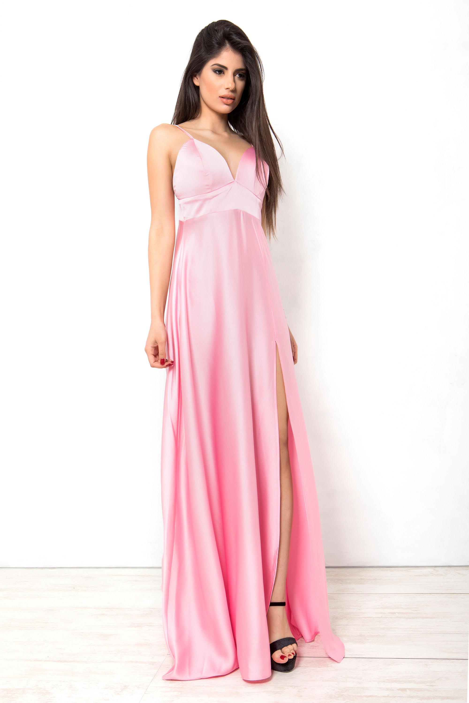 d5ae6cb1ea17 Romance eve φόρεμα ροζ Search Icon. prev