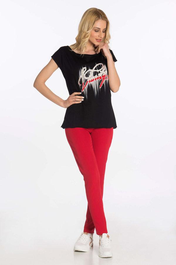 TSHIRTS Vanily t-shirt μαύρο