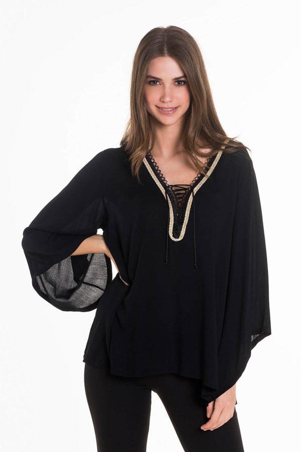 68cb9ce2d100 ΠΟΥΚΑΜΙΣΑ Babylon πουκάμισο μαύρο ...