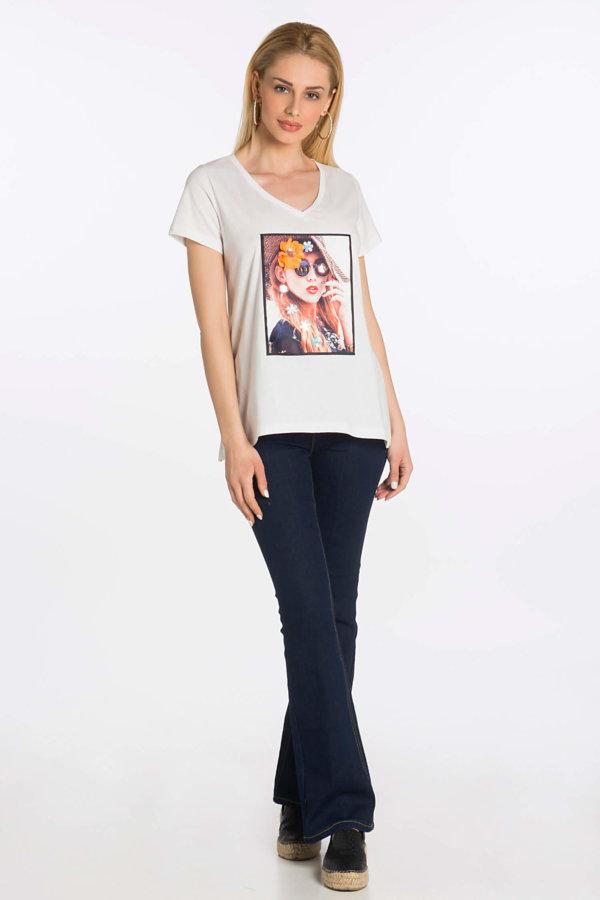 TSHIRTS Girly stuff  t-shirt λευκό