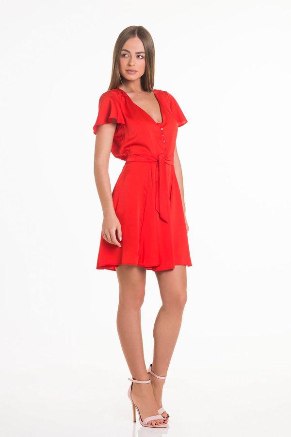 fa2068d4fe62 Προσφορά! ΦΟΡΕΜΑΤΑ Antiki bar φόρεμα κόκκινο ...