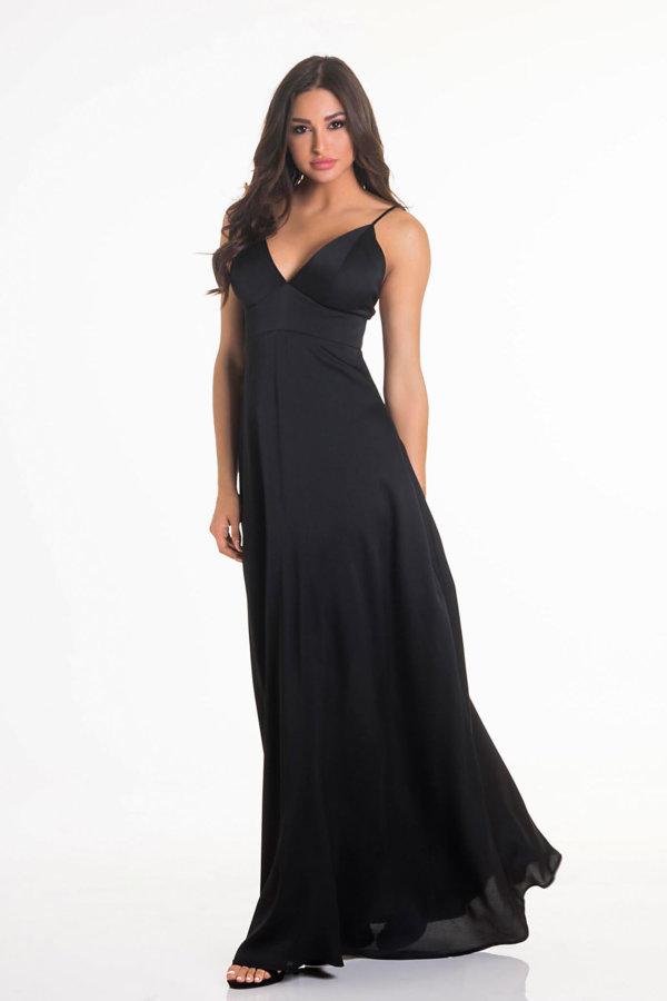 ΠΡΟΣΦΟΡΕΣ Written φόρεμα μαύρο