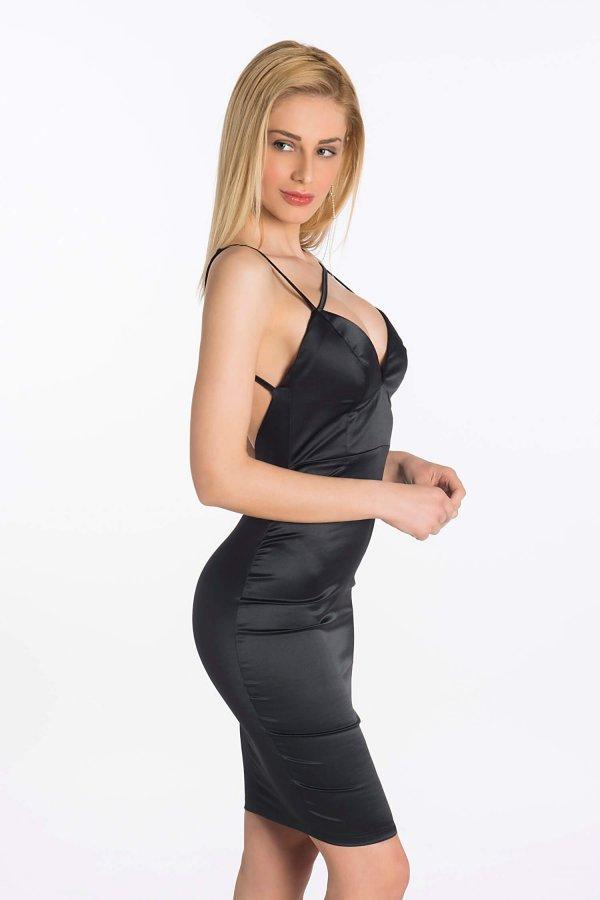 FORMAL ΦΟΡΕΜΑΤΑ Goodnight kiss φόρεμα μαύρο