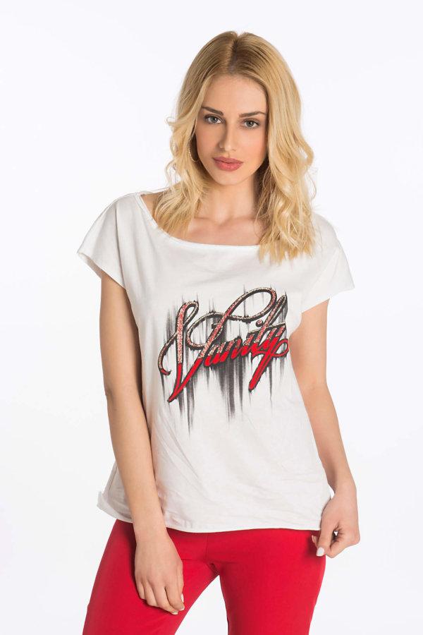 TSHIRTS Vanily t-shirt λευκό