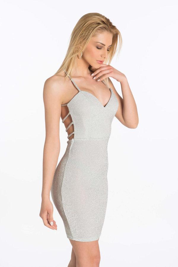 d383db04db50 Προσφορά! Manifesto φόρεμα ασημί Manifesto φόρεμα ασημί