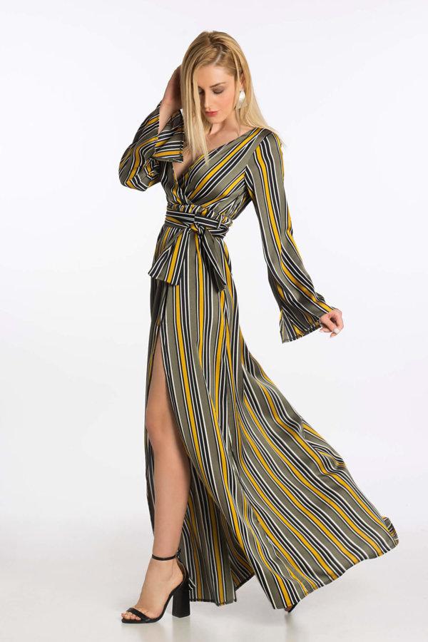 4e62787cca56 Προσφορά! ΦΟΡΕΜΑΤΑ Signorina φόρεμα λαδί ΦΟΡΕΜΑΤΑ Signorina φόρεμα λαδί
