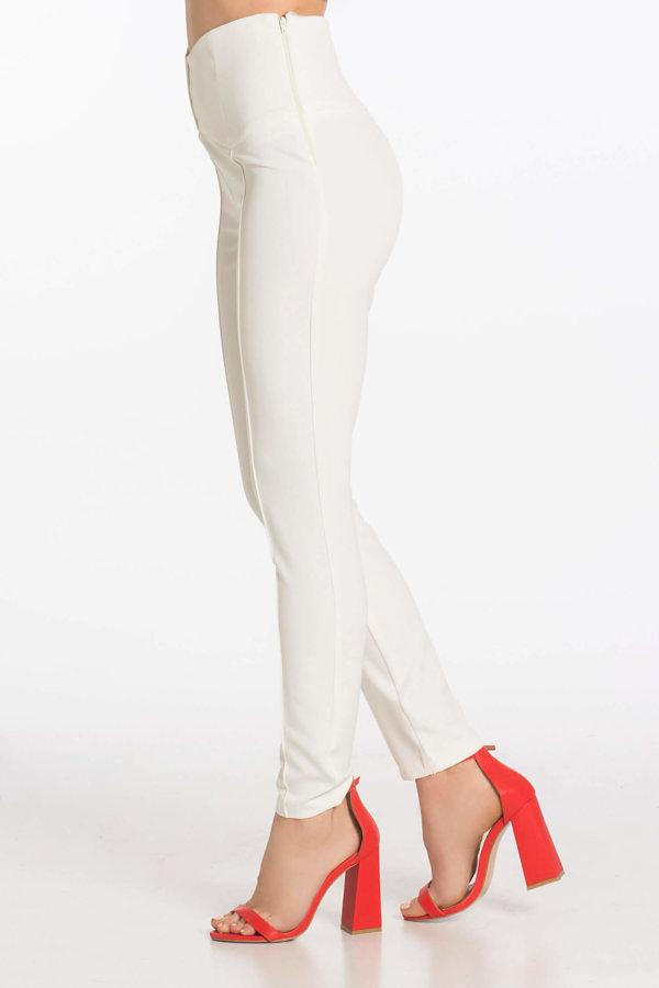 ΠΑΝΤΕΛΟΝΙΑ Bioletta pants λευκό