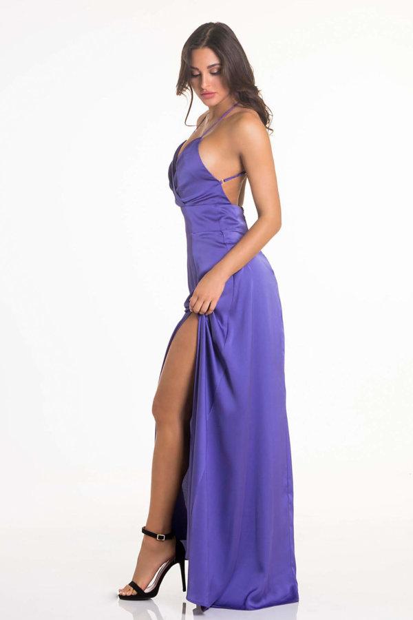 ΠΡΟΣΦΟΡΕΣ Lady like φόρεμα μωβ