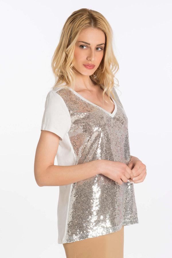 TSHIRTS Cinder rose t-shirt ασημί