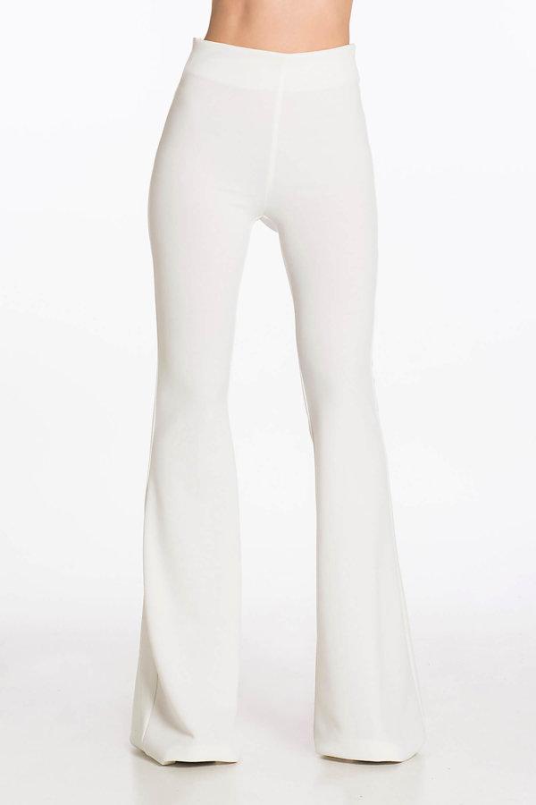 JOY COLLECTION Faye παντελόνι λευκό
