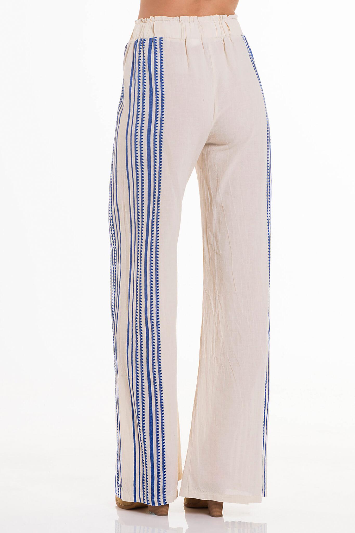 697569507f06 Coquet pants μπλε Search Icon. prev