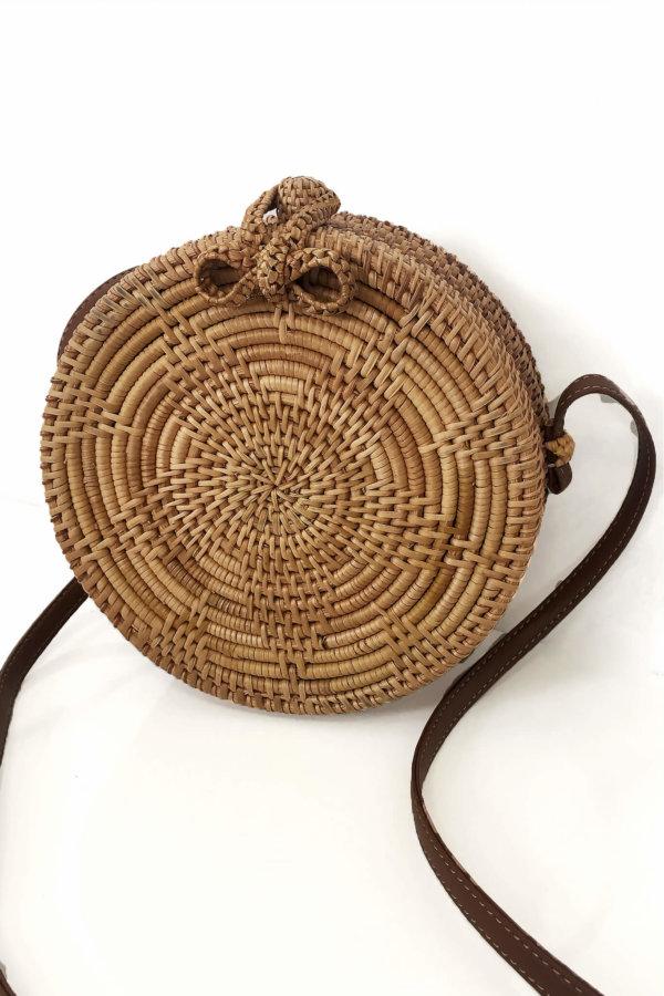 ΑΞΕΣΟΥΑΡ Bastille τσάντα καφέ