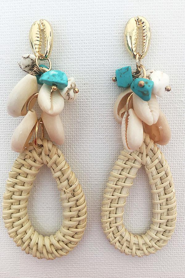 ΚΟΣΜΗΜΑΤΑ Jenny σκουλαρίκια λευκό