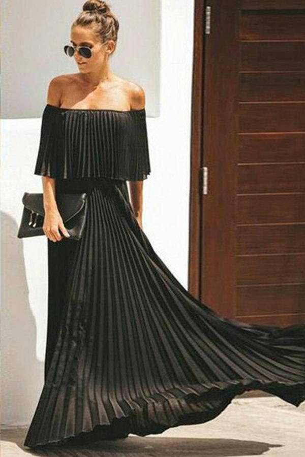 ΠΡΟΣΦΟΡΕΣ Dark thougts dress μαύρο