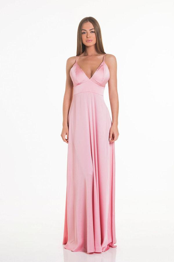 ΦΟΡΕΜΑΤΑ Written φόρεμα ροζ