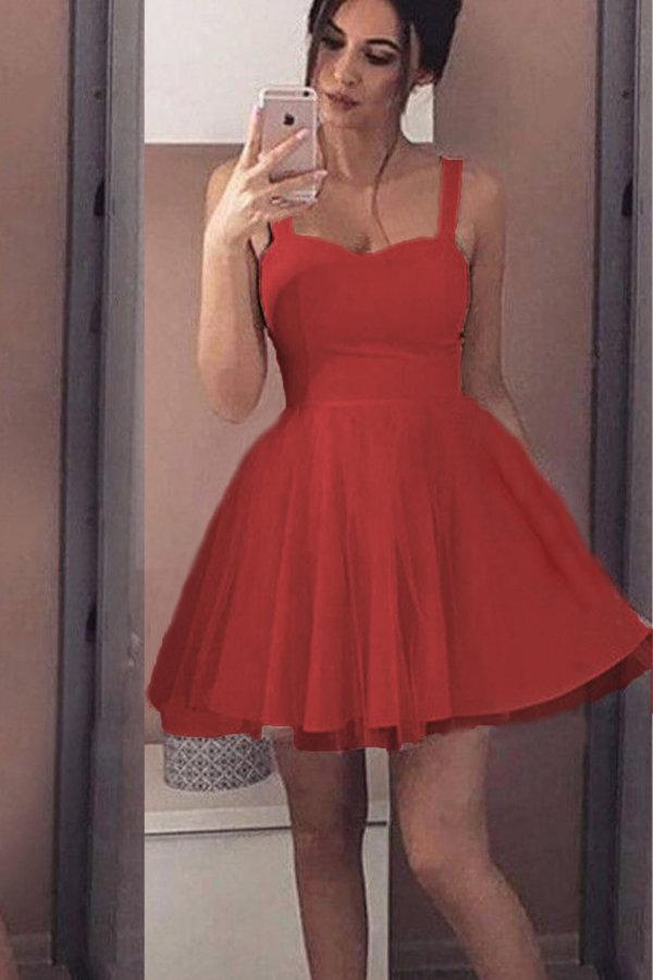 ΜΙΝΙ ΦΟΡΕΜΑΤΑ Primrose dress κόκκινο