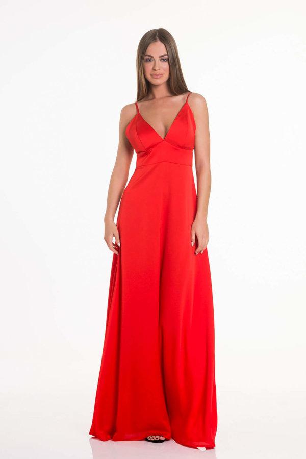 ΠΡΟΣΦΟΡΕΣ Written φόρεμα κόκκινο