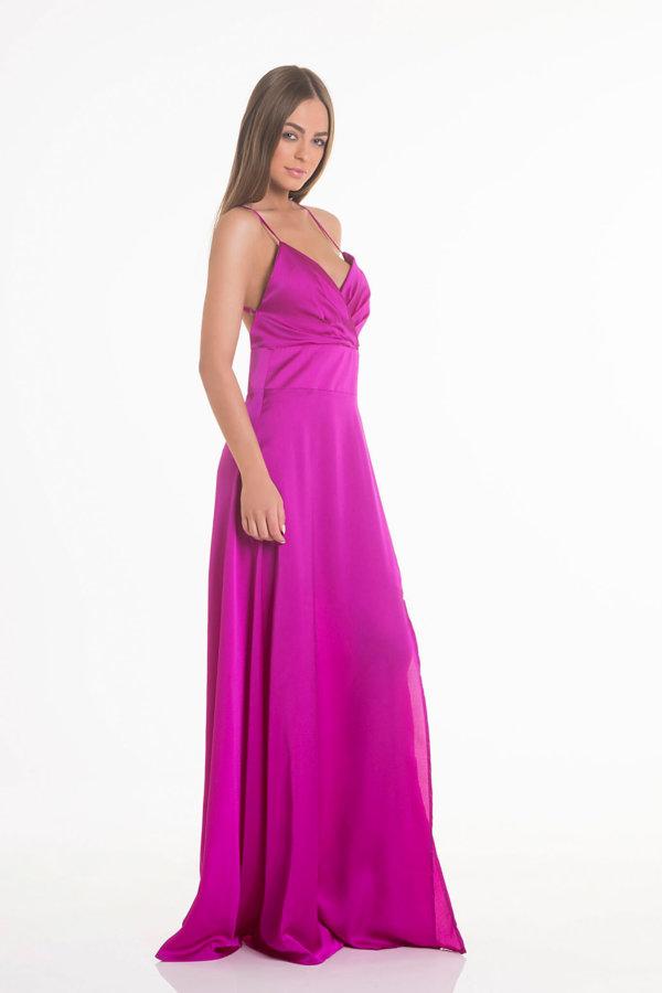 b1a7ec131050 ... ΦΟΡΕΜΑΤΑ Lady like φόρεμα φούξια