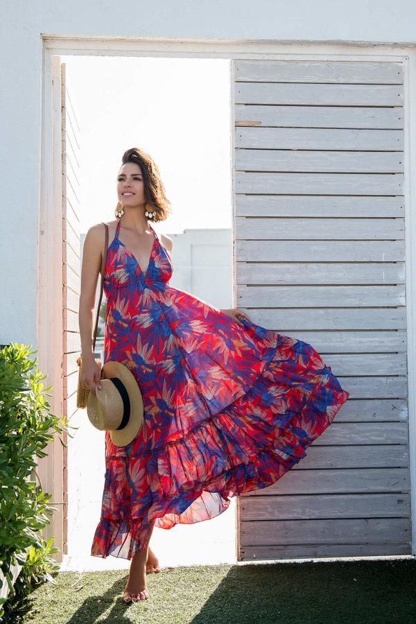 ΝΕΕΣ ΑΦΙΞΕΙΣ Maui φόρεμα κόκκινο