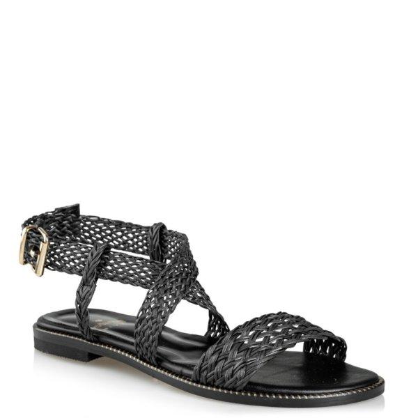MAIRIBOO Theros flat sandals μαύρο