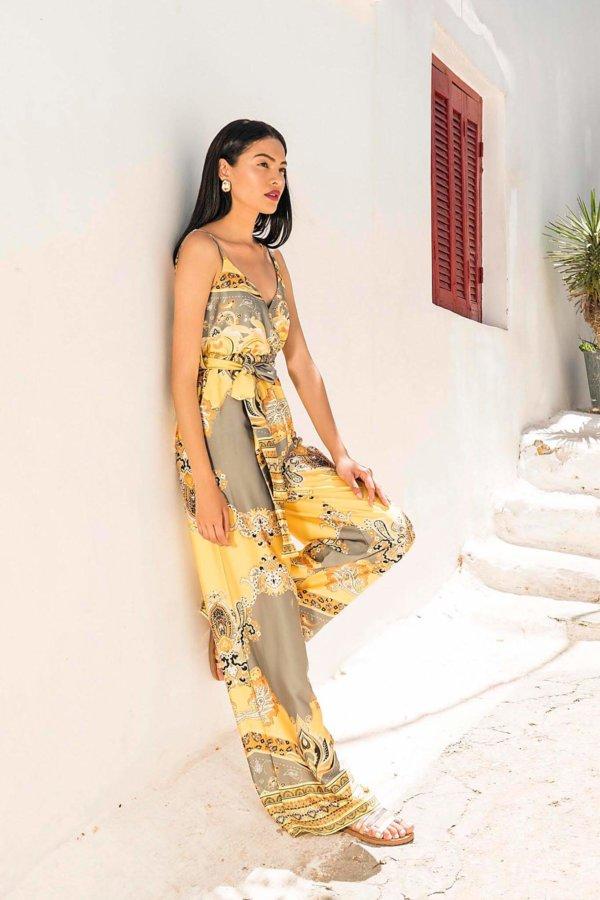 ΟΛΟΣΩΜΕΣ ΦΟΡΜΕΣ Beehive ολόσωμη φόρμα κίτρινο