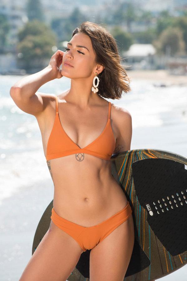 ΜΠΙΚΙΝΙ Bermuda μπικίνι πορτοκαλί