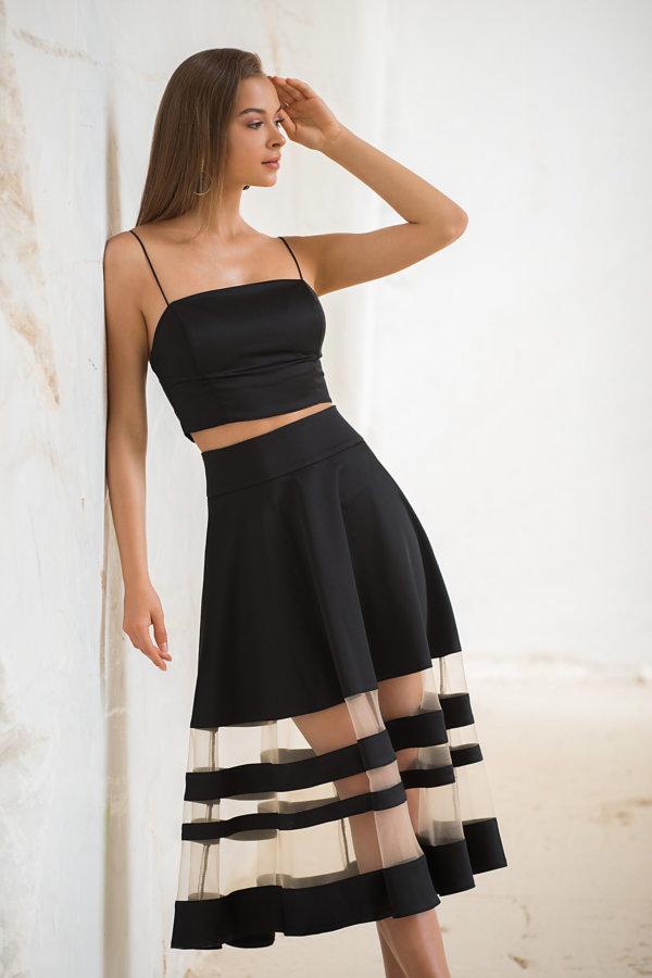 ΦΟΥΣΤΕΣ Witch φούστα μαύρο