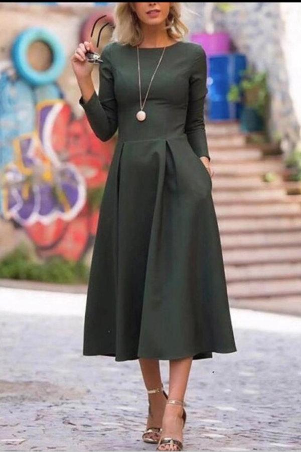 ΝΕΕΣ ΑΦΙΞΕΙΣ Perry φόρεμα πράσινο