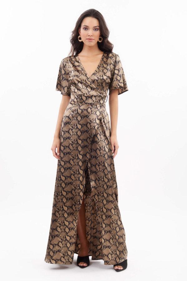 ΜΑΞΙ ΦΟΡΕΜΑΤΑ Nilufer φόρεμα snake