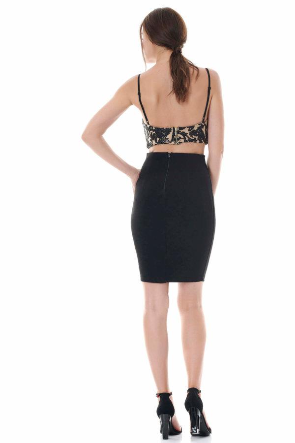 ΠΑΝΤΕΛΟΝΙΑ ΠΡΟΣΦΟΡΕΣ Eliecar φούστα μαύρο